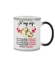 FOR EVERY DAY I MISS YOU FOR EVERY HOUR I NEED YOU Color Changing Mug thumbnail