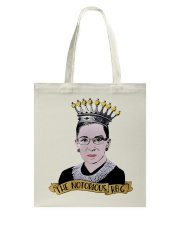 THE NOTORIOUS RBG Tote Bag tile