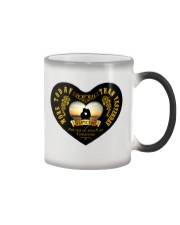 TO MY WIFE I LOVE YOU MORE TODAY THAN YESTERDAY Color Changing Mug thumbnail