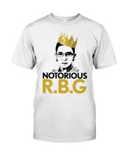 NOTORIOUS RBG Classic T-Shirt thumbnail