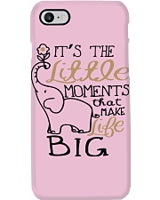 IT'S THE LITTLE MOMENTS THAT MAKE LIFE BIG Phone Case thumbnail