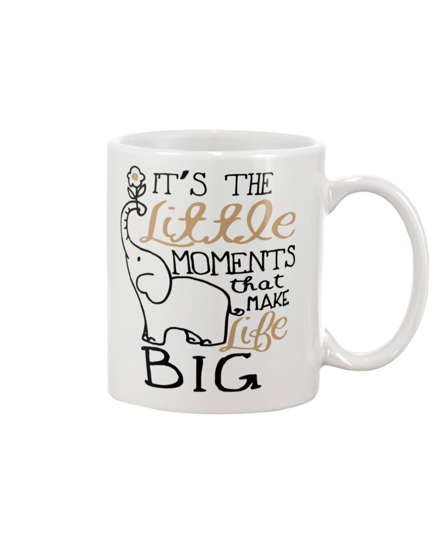 IT'S THE LITTLE MOMENTS THAT MAKE LIFE BIG Mug