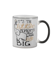 IT'S THE LITTLE MOMENTS THAT MAKE LIFE BIG Color Changing Mug thumbnail