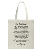 MY HUSBAND Tote Bag thumbnail