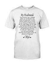MY HUSBAND Classic T-Shirt thumbnail