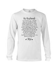 MY HUSBAND Long Sleeve Tee thumbnail