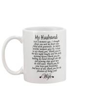 MY HUSBAND Mug back