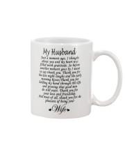 MY HUSBAND Mug front