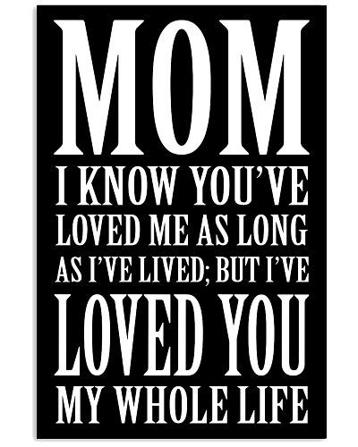 LOVED YOU MY WHOLE LIFE