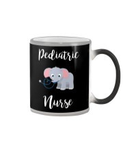 PEDIATRIC NURSE ELEPHANTS Color Changing Mug thumbnail