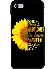 SHE WAS A WILDFLOWER IN LOVE WITH THE SUN Phone Case thumbnail