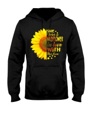SHE WAS A WILDFLOWER IN LOVE WITH THE SUN Hooded Sweatshirt front
