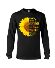 SHE WAS A WILDFLOWER IN LOVE WITH THE SUN Long Sleeve Tee thumbnail