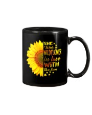 SHE WAS A WILDFLOWER IN LOVE WITH THE SUN Mug thumbnail