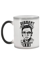 DISSENT MUTHA FCKAS THE NOTORIOUS RBG Color Changing Mug color-changing-left