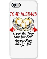 TO MY HUSBAND I ALWAYS LOVE YOU Phone Case thumbnail