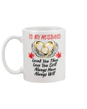 TO MY HUSBAND I ALWAYS LOVE YOU Mug back