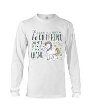 YOU'RE LUCKY ENOUGH TO BE DIFFERENT  Long Sleeve Tee thumbnail