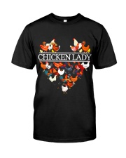CHICKEN LADY Classic T-Shirt front