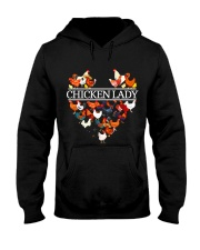 CHICKEN LADY Hooded Sweatshirt thumbnail