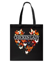 CHICKEN LADY Tote Bag thumbnail