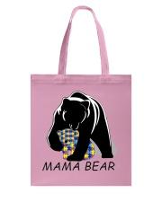 AUTISM MAMA BEAR Tote Bag front