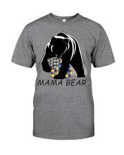 AUTISM MAMA BEAR Classic T-Shirt thumbnail
