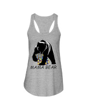 AUTISM MAMA BEAR Ladies Flowy Tank thumbnail
