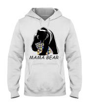 AUTISM MAMA BEAR Hooded Sweatshirt thumbnail