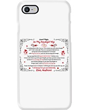 TO MY BEAUTIFUL WIFE I WILL ALWAYS LOVE YOU Phone Case thumbnail