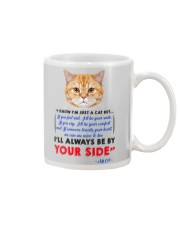 I KNOW I'M JUST A CAT BUT I'LL ALWAYS BE BY YOU Mug thumbnail