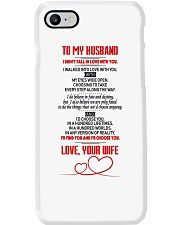 TO MY HUSBAND  Phone Case thumbnail
