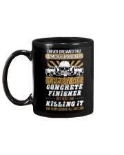 SOMEDAY I WOULD BE A GRUMPY OLD CONCRETE FINISHER Mug back