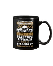 SOMEDAY I WOULD BE A GRUMPY OLD CONCRETE FINISHER Mug front