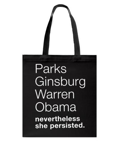 PARKS GINSBURG WARREN OBAMA NEVERTHELESS SHE