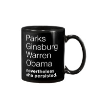 PARKS GINSBURG WARREN OBAMA NEVERTHELESS SHE Mug thumbnail