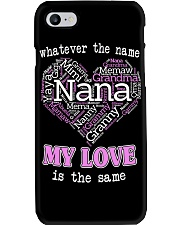 WHATEVER THE NAME MY LOVE IS THE SAME Phone Case thumbnail