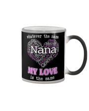 WHATEVER THE NAME MY LOVE IS THE SAME Color Changing Mug thumbnail