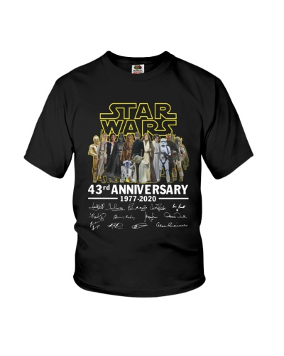 Star Wars 43Rd Anniversary 1977 2020 Shirt