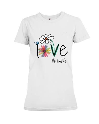 Mimilife Bird Flower Love T-Shirt