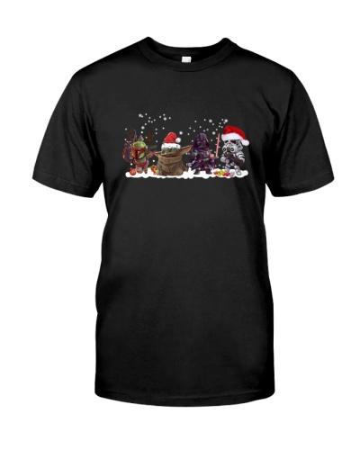 Boba Fett Yoda Darth Vader Stormtrooper Christmas