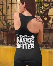 It Never Gets Easier Ladies Flowy Tank apparel-ladies-flowy-tank-lifestyle-05