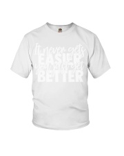 It Never Gets Easier Youth T-Shirt thumbnail