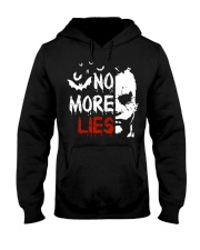 No more lies Hooded Sweatshirt thumbnail