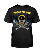 WINDOW CLEANER Classic T-Shirt front