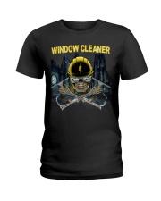 WINDOW CLEANER Ladies T-Shirt thumbnail