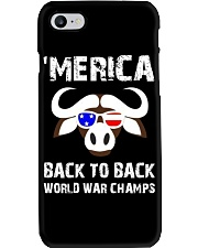 MERICA BACK TO BACK WORLD WAR CHAMPS Phone Case thumbnail