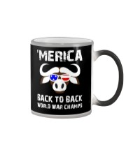 MERICA BACK TO BACK WORLD WAR CHAMPS Color Changing Mug thumbnail