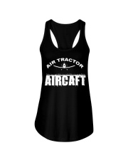 AIR TRACTOR AIRCAFT Ladies Flowy Tank tile