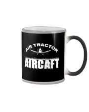 AIR TRACTOR AIRCAFT Color Changing Mug thumbnail